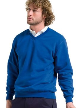 Russell Workwear V-Neck Sweatshirt